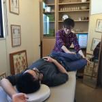 操体仲間の仙台の先生方との技術向上勉強会